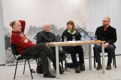 Menininkų diskusija: Prievarta kultūroje: tabu ar taisyklė?