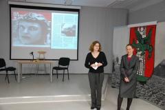 """Veranstaltung zum Schülerwettbewerb """"Bildwelten Ingeborg Bachmanns"""": Preisverleihung"""